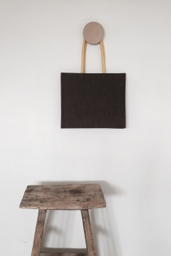 Galleri Jute - Jute bag with yellow handles Profilbureauet