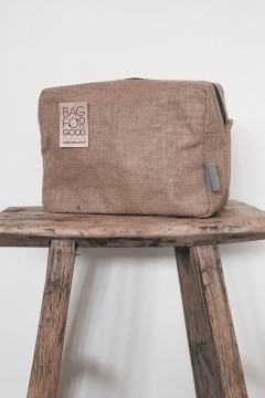 Galleri Jute - jute bag toiletry bag Profilbureauet