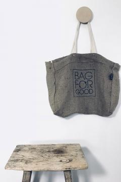 Jute - 01 woven 49x40x15cm - Bagforgood