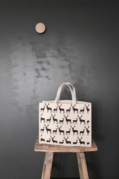 Galleri Cotton - Cotton canvas bag with gusset middle sized Profilbureauet