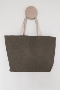 Galleri Juco - Juco bag with heering handles and boat shape  2 Profilbur...