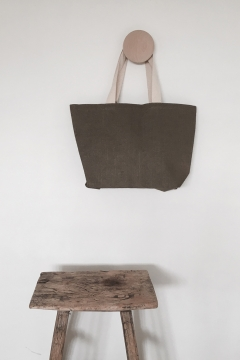 Galleri Juco - Juco bag with heering handles and boat shape  Profilburea...