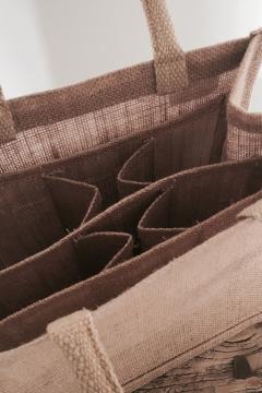 Galleri Jute - jute bag with 6 rooms 2 Profilbureauet