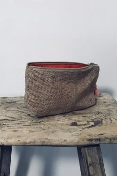Jute - 02 - cosmetic bag